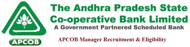 APCOB Recruitment 2016 Apply Online & Eligibility for Manager Posts