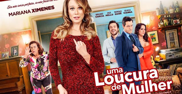 """Veja Mariana Ximenes no trailer da comédia """"Uma Loucura de Mulher"""""""