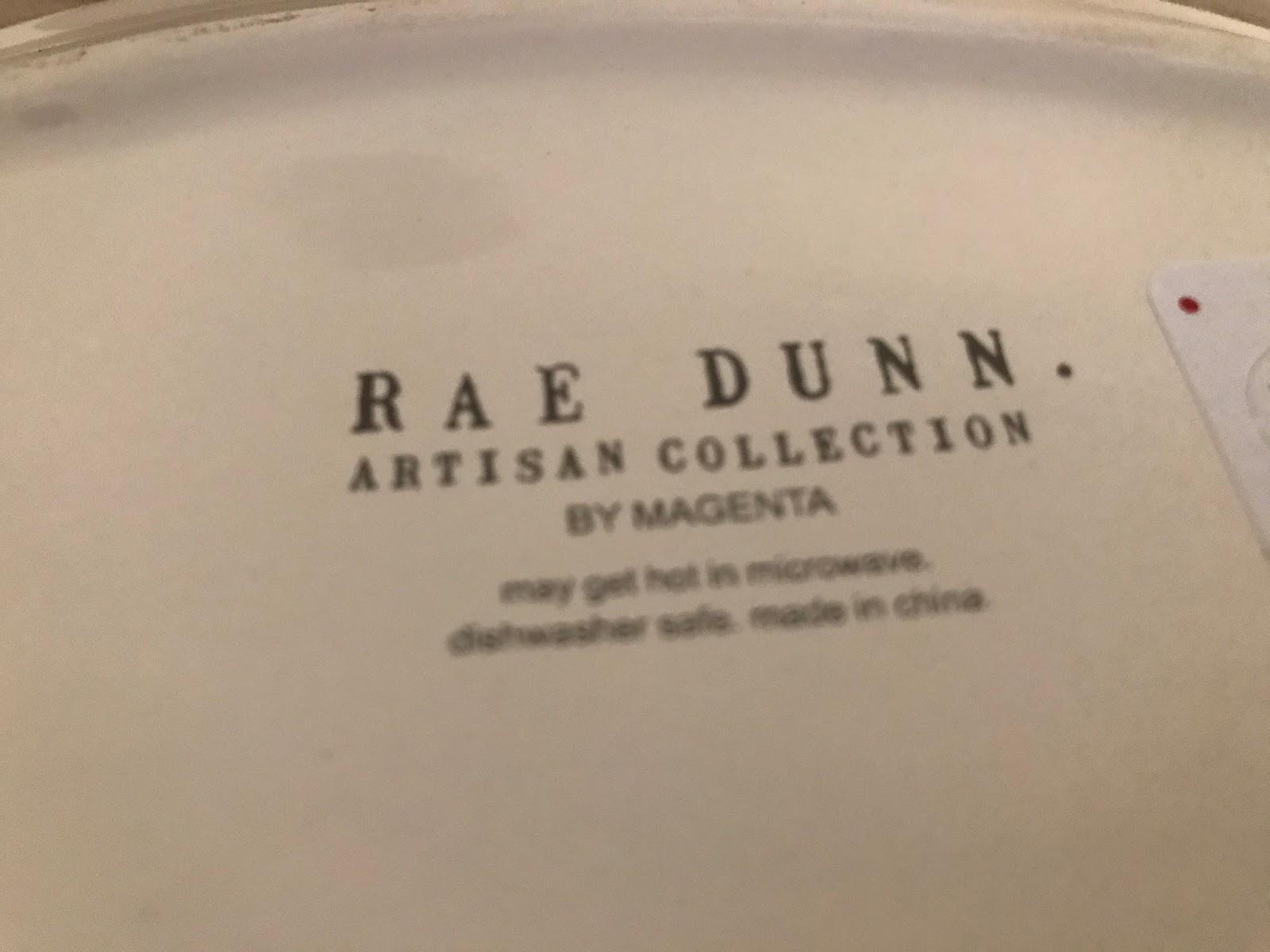 rae dunn purr mug appetizer plate set