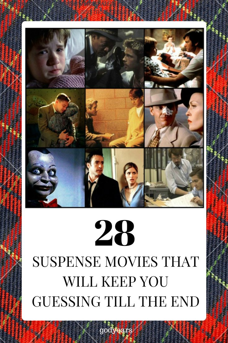 Top 28 Suspense Movies That Will Keep You Guessing till the End