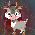 Games4King Farm Animal Goat Escape