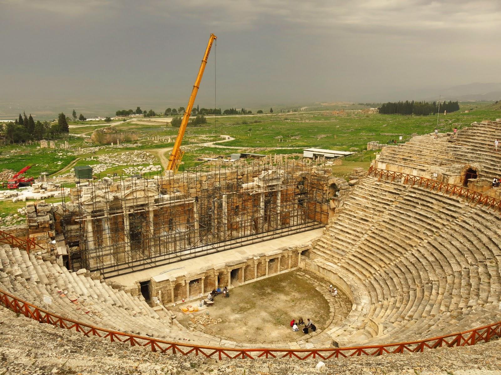 Hierapolis i Turkiet