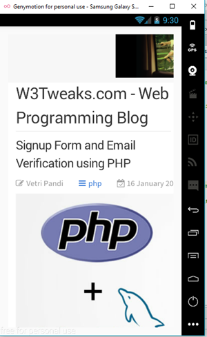 Android WebView application Prompt | Android Studio 8