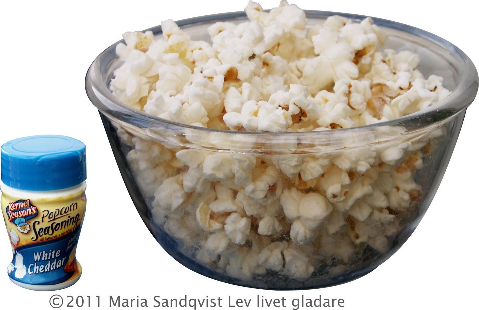 Har smaskas ton av popcorn