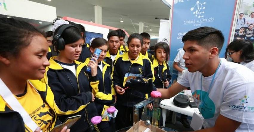 PERÚ CON CIENCIA: Escolares exhiben creativos proyectos en Plaza Norte hasta el domingo 12