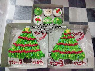 Christmas Tress Pohon Natal Cupcake Surabaya - Sidoarjo