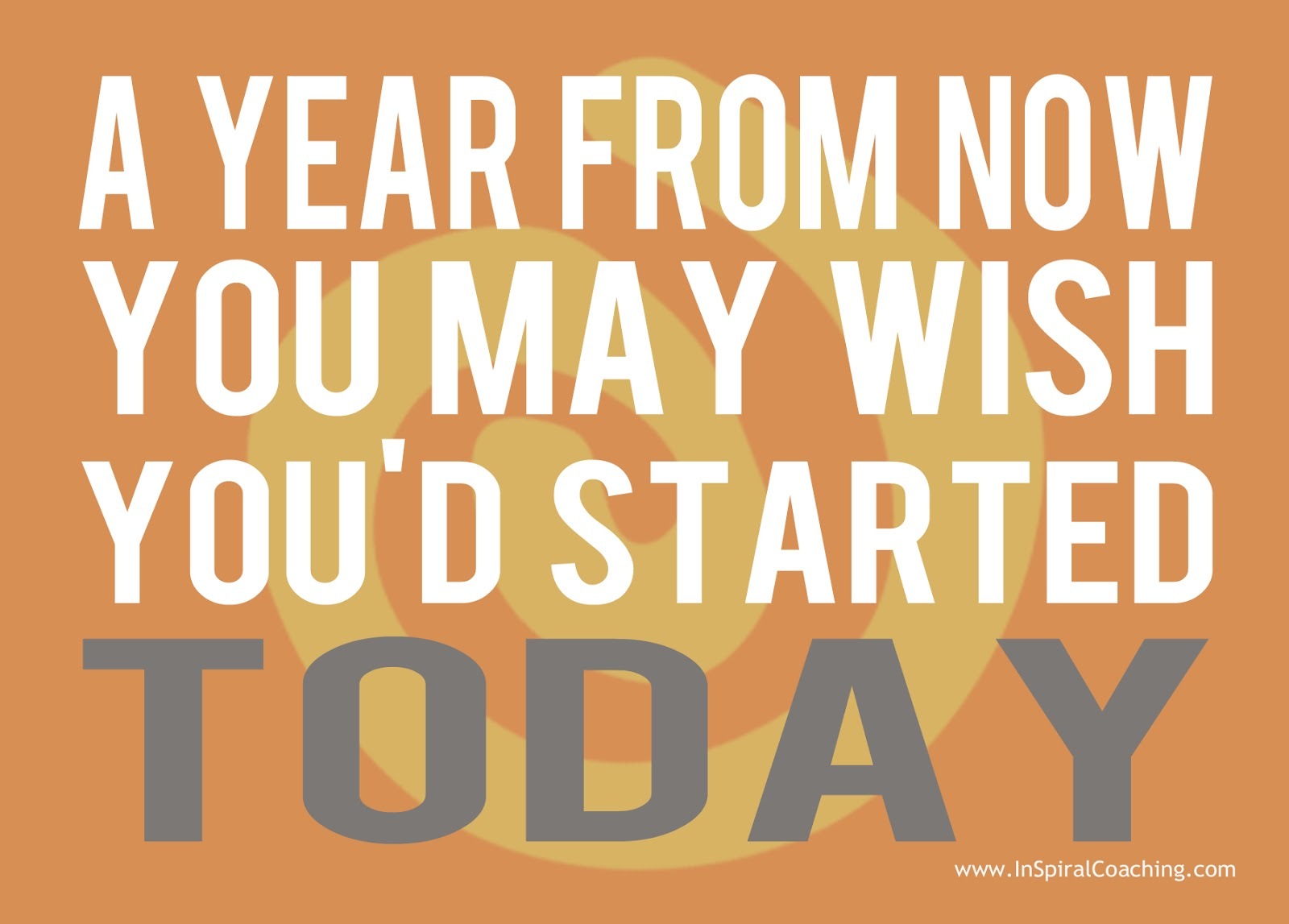 Fitness Quotes: InSpiral Coaching: Old Year's Resolutions