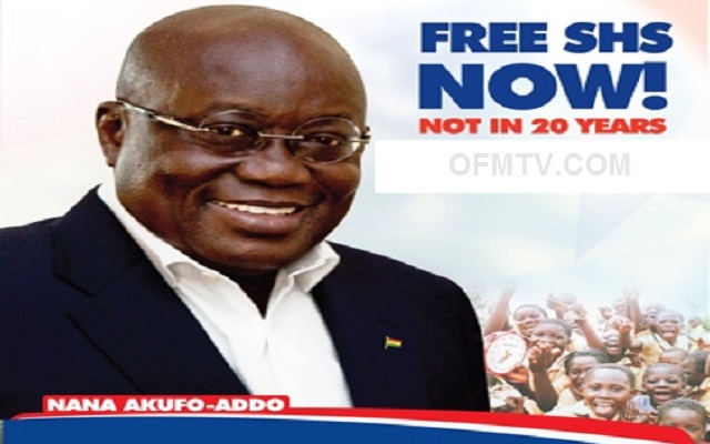 President Akufo-Addo Assures Ghanaians as countdown to Free SHS...[Photos]
