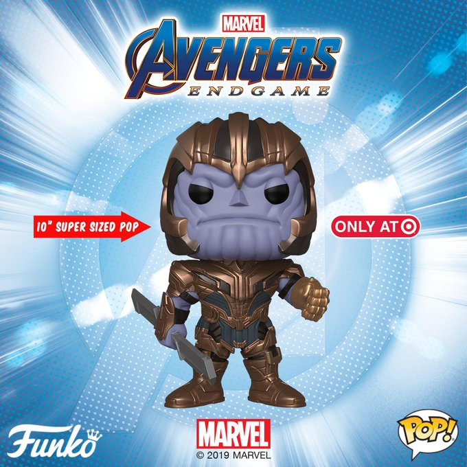 0227ea0e The Blot Says...: Avengers: Endgame Retailer Exclusive Pop! Marvel ...
