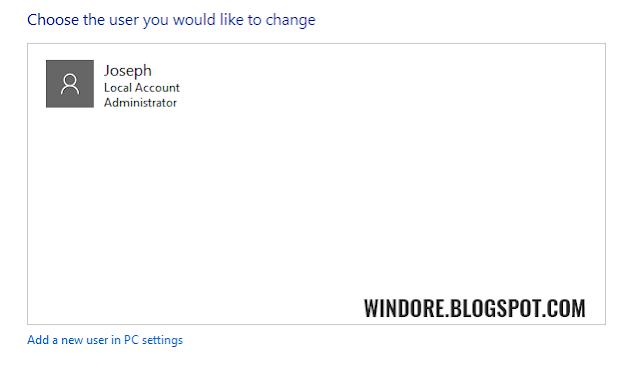 Cara Menghapus Permanen User pada Windows 10