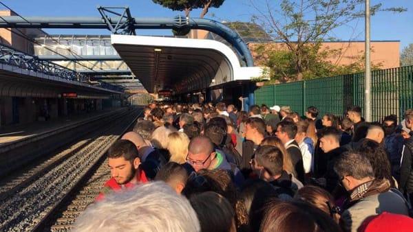 Treno rotto a Vitinia, cose terrificanti