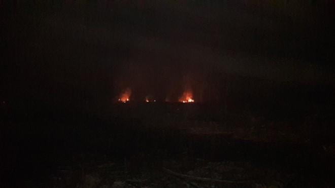 Gia Lai: Cháy kho đạn cũ, Chủ tịch tỉnh trực tiếp chỉ đạo chữa cháy