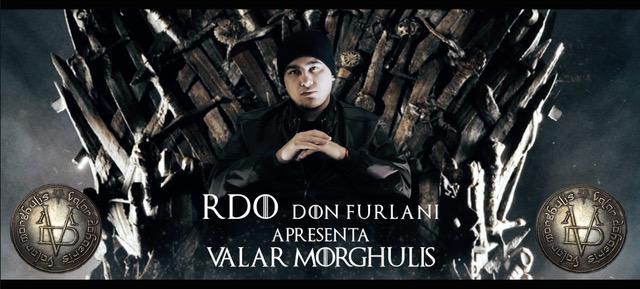 """Com referências à série Game Of Thrones, RDO lança video da música """"Valar Morghulis"""""""