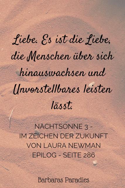 Buchrezension #160 Nachtsonne 3 - Im Zeichen der Zukunft von Laura Newman