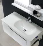 meuble de salle de bain vasque en céramique