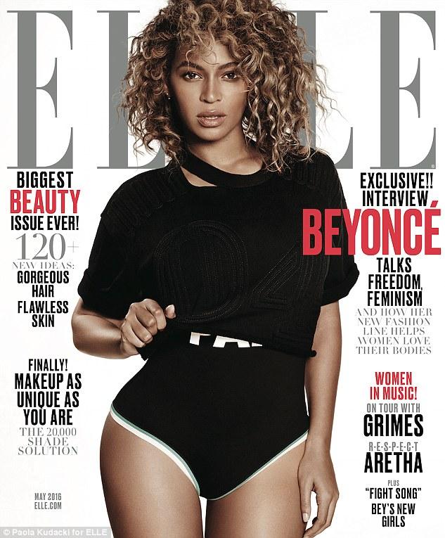 Beyoncé cover Elle Uk 2016