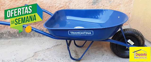 Carrinho Tramontina R$ 136,00
