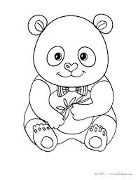 Adorable Baby Panda Coloring Page