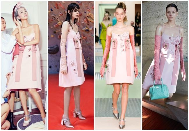 Same or Not 宣娜:2016流行色穿搭 粉藍、粉晶