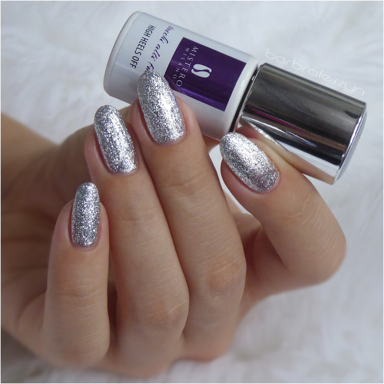 Silver glitter for Christmas party
