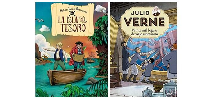 cuentos libros lecturas recomendadas verano 2018 clasicos verne stevenson