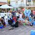 Decenas de personas disfrazadas dan color a la bajada de inicio de las fiestas de El Regato