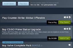 Kesan pertama bermain Counter Strike : Global Offensive yang sudah di Gratiskan