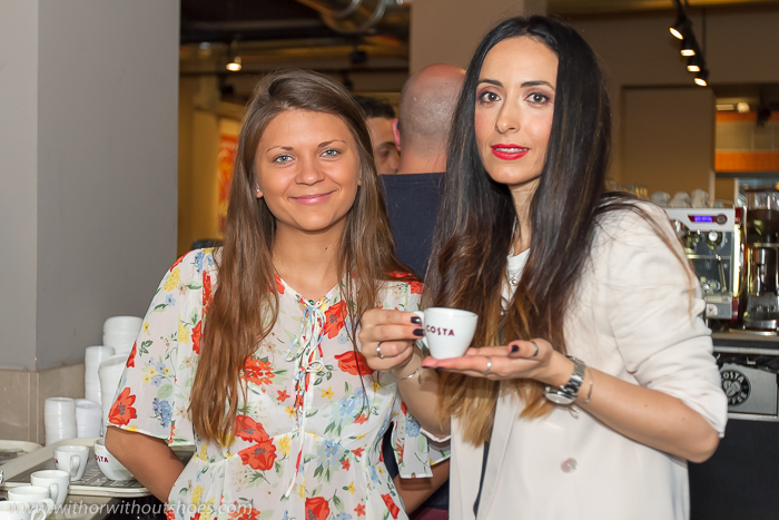 BLogger influecer instagramer de moda de Valencia asistencia evento workshop costa coffee