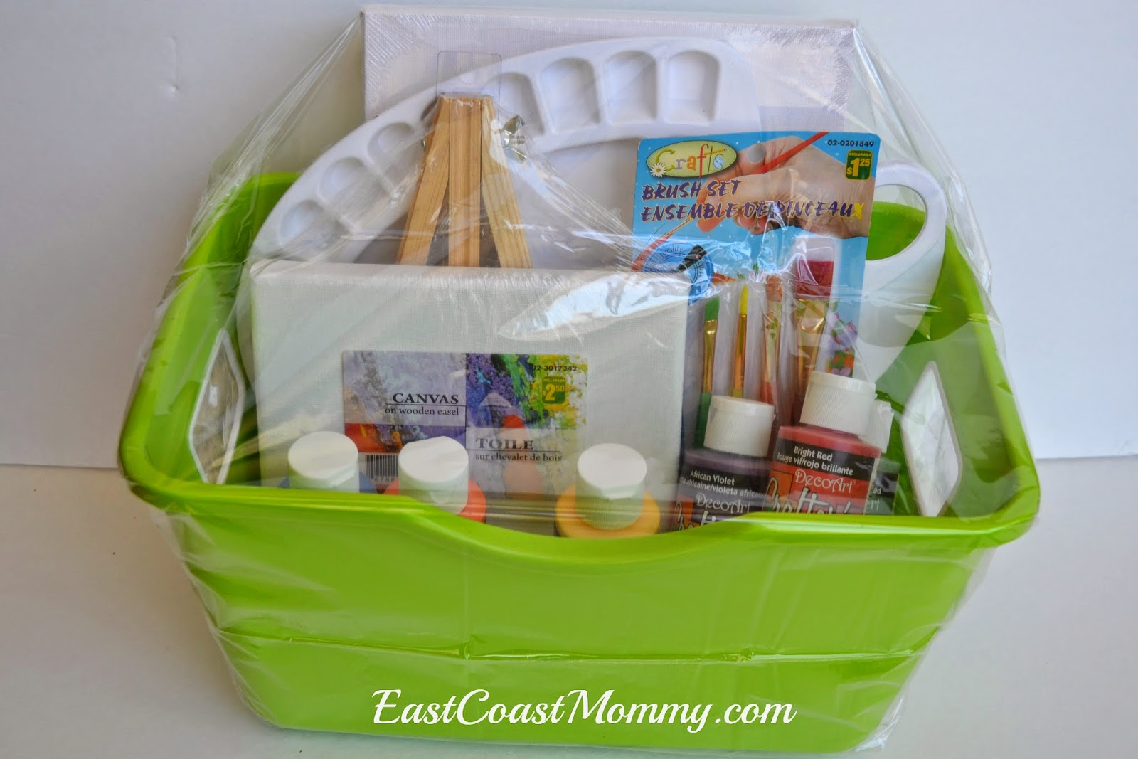 Arts And Crafts Gift Ideas For Kids Part - 26: 5 DIY Gift Basket Ideas {for Kids}