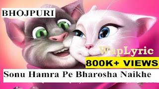 Sonu hamra pe bharosha kahe naikhe Lyrics