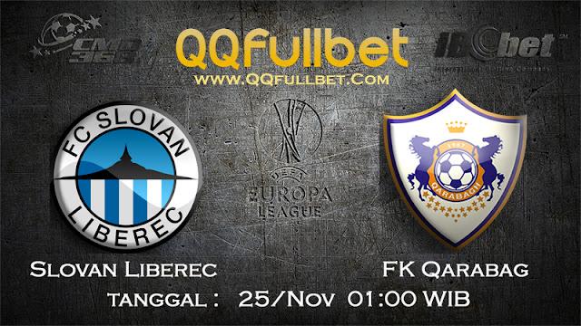 PREDIKSIBOLA - Prediksi Taruhan Bola Slovan Liberec vs FK Qarabag 25 November 2016 (UEFA Europa League)