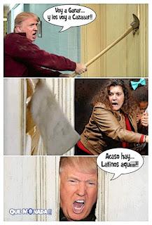meme de donald trump versus latinos
