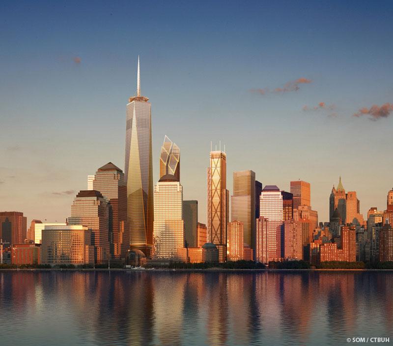 برج مركز التجارة العالمي في نيويورك