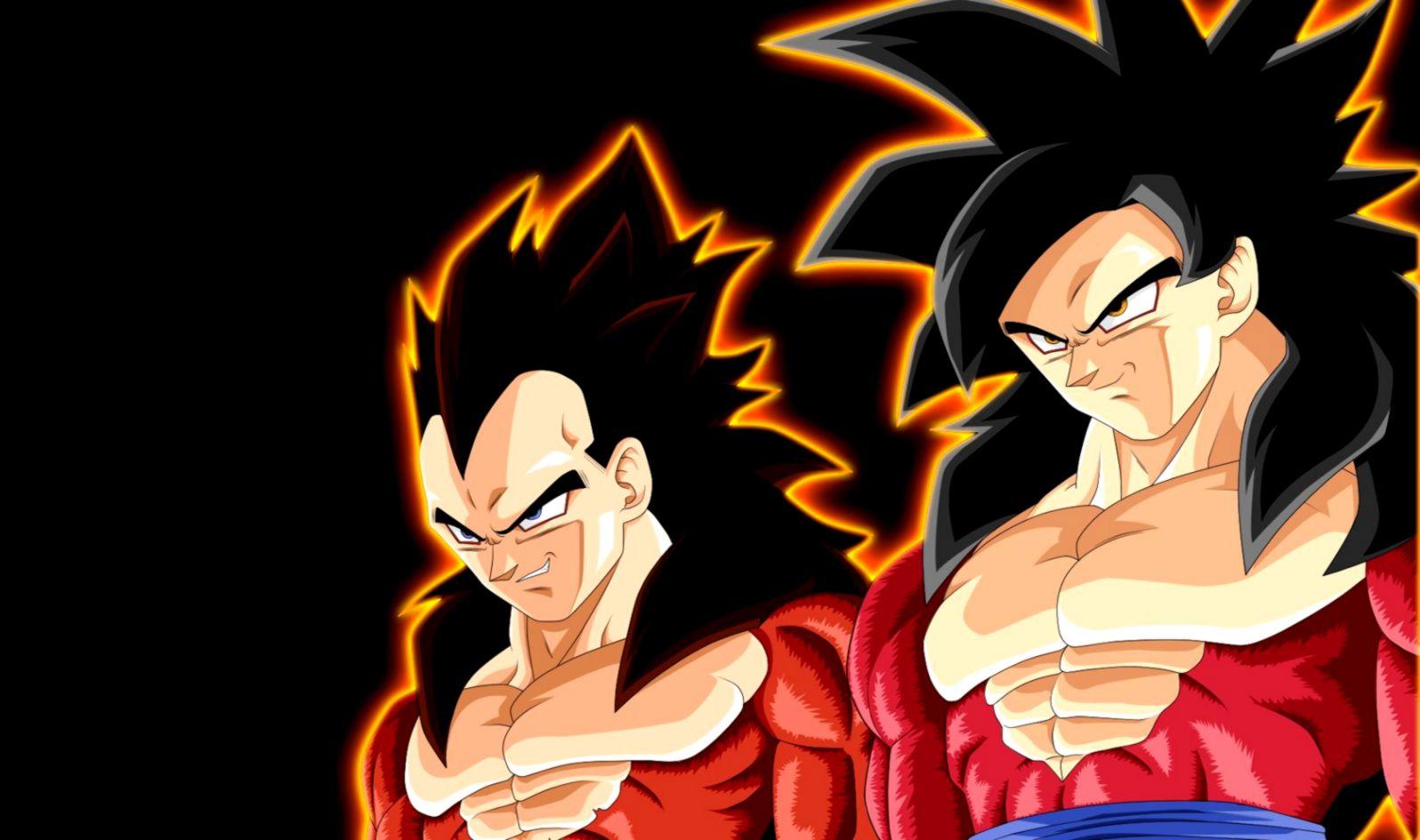 Dragon Ball Z Super Saiyan Goku Vs Vegeta Wallpaper Hd Wallpaper