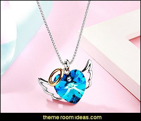 Love Angel Heart Pendant
