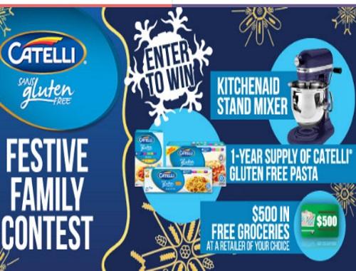 Catelli Festive Family Contest