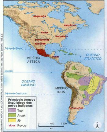 América Pré-Colombiana (Astecas, Maias e Incas)