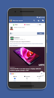 Facebook Mais leve sem travar- App Phoenix