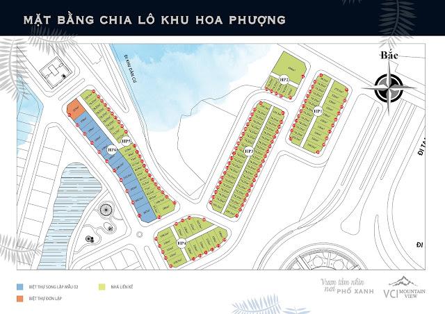 Tiểu Khu Hoa Phượng - Dự án VCI