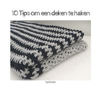 deken haken, tips om een deken te haken, haaktips