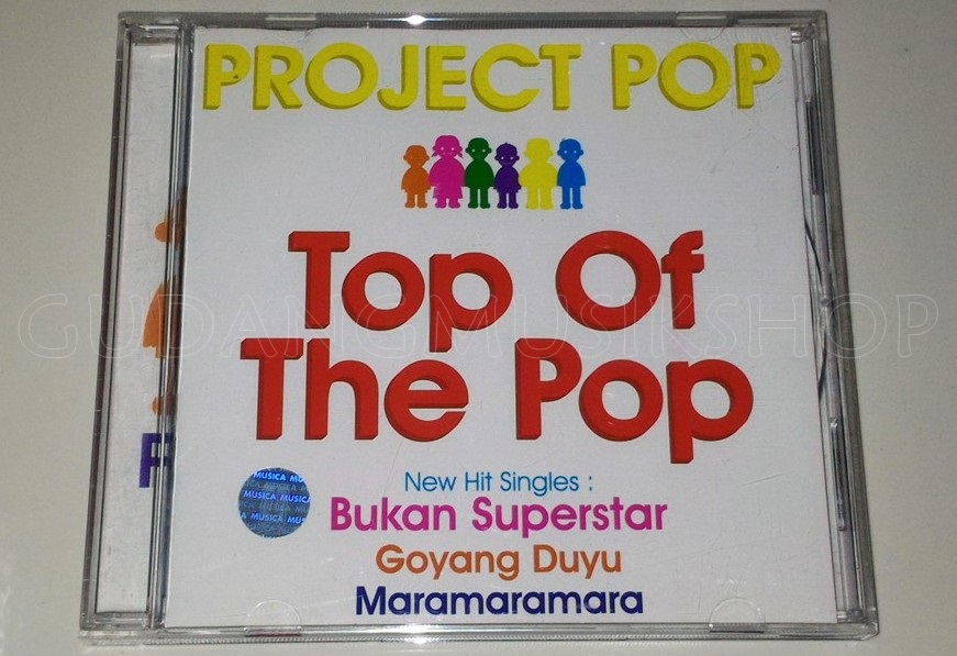 Cd Project Pop Top Of The Pop Gudang Musik Shop
