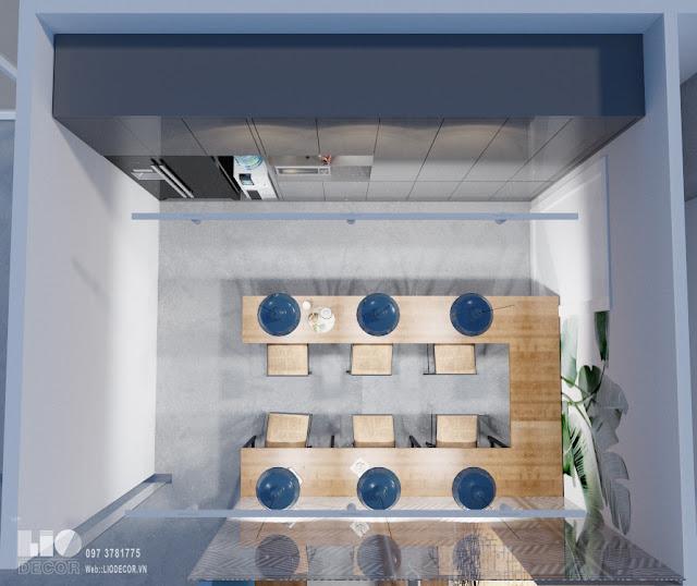 Thiết kế nội thất văn phòng hiện đại 6