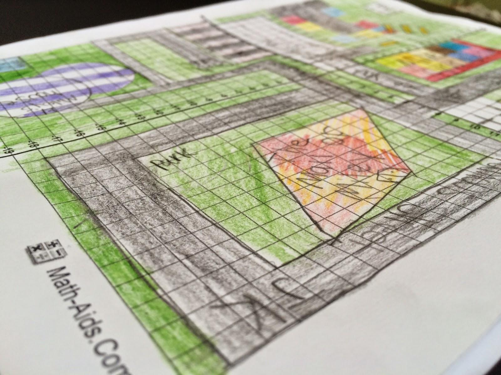Geometry City Project 6th Grade