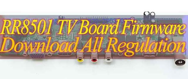 RR8501 Universal board firmware Download 1366X768, 1400X1050, 1920X1080,1920X1200,1600X900,1440X900,1680X1050,1600X1200,1024X768,1280X1024,, (Flash file)