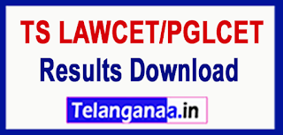 TS Telangana TSLAWCET-TSPGLCET 2017 Results Download