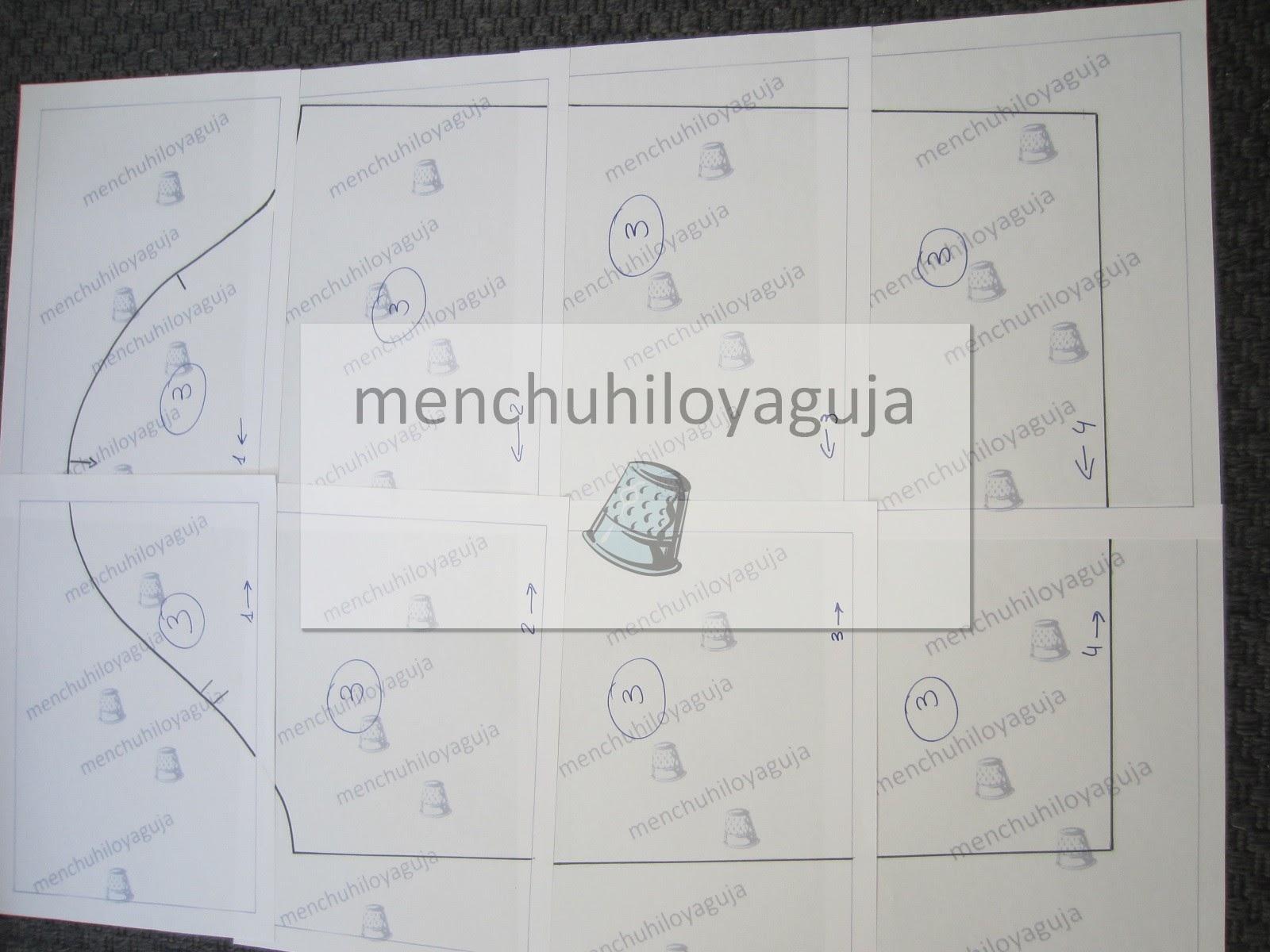 Patrones de Costura: PATRÓN GRATIS DE NAZARENO TALLA 50