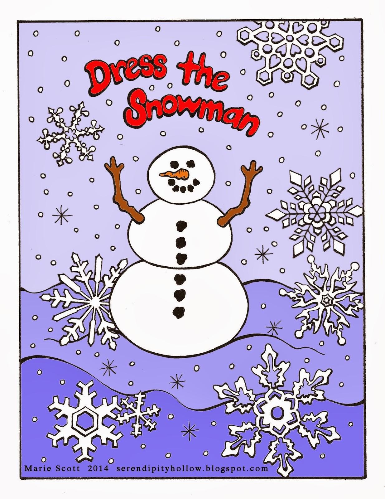 Serendipity Hollow Dress The Snowman