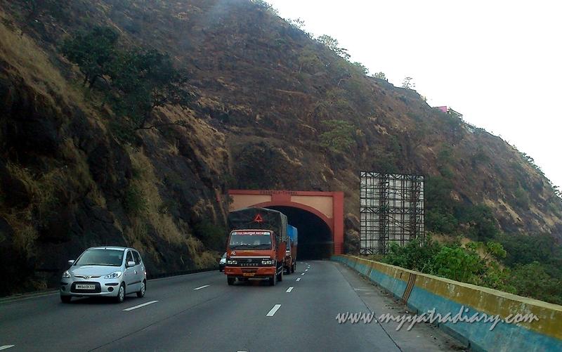 Khandala Tunnel Mumbai - Pune Expressway