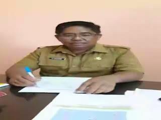 Kepala BPBD Kabupaten Kepulauan Talaud