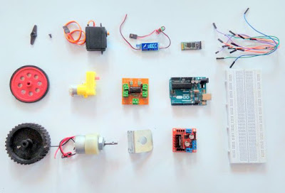 TechnologyIQ: Education: Interfacing Motors with Arduino by Flavian